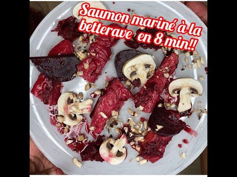 saumon-mariné-a-la-betterave-et-champignons-de-paris