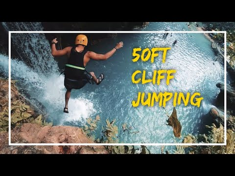 Cliff Jumping in Siargao, Cebu and Singapore | Compilation