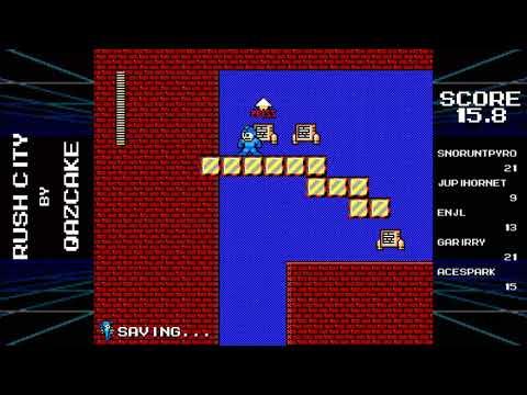Make a Good Mega Man Level 2 Blind Run - Pt 7 - Rush Gigavolt