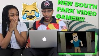 Couple Reacts : South Park: The Fractured But Whole Trailer Reaction!!!!
