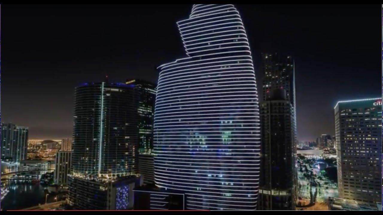 Aston Martin Residences Miami Preconstructions астон мартин резиденции недвижимость в маями Youtube