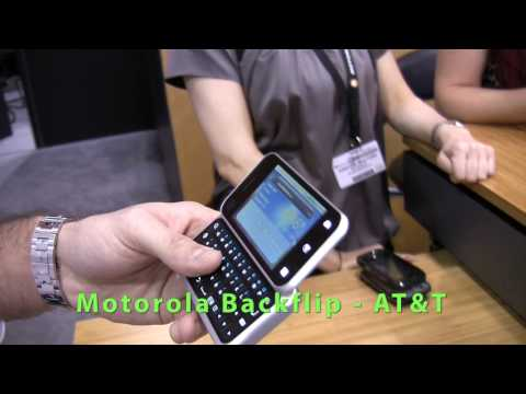 Motorola Devour, Motorola BackFlip and Motorola Cliq XT Explained