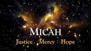 Micah: The Nation's Hope (Msg 5)