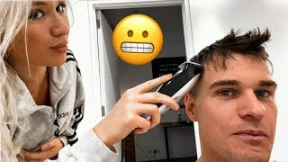 I Let My Girlfriend Cut My Hair....  (Quarantine Vlog)