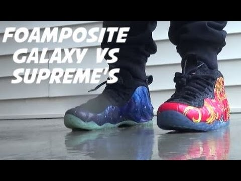 foamposite one galaxy