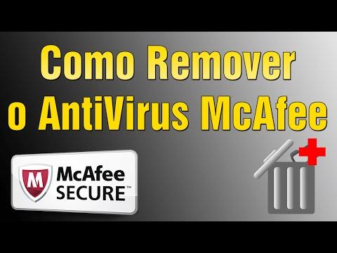 Como Remover o AntiVirus McAfee - Como Desinstalar o McAfee