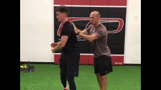 Arm Care Lesson 3: Thoracic Mobility Protects Against Anterior Shoulder instability