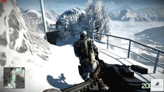 Battlefield Bad Company 2 (2010) Crack The Sky Mission 5 720p PC Gameplay With FPS
