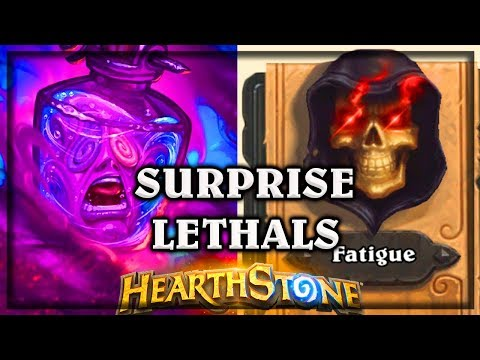 Surprise Lethals ~ Kobolds & Catacombs ~ Hearthstone