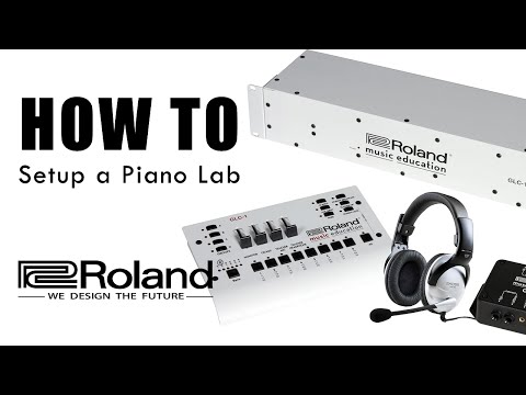 How to Set Up a Digital Piano Lab