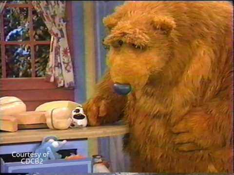 Bear in the Big Blue House Promo: Sorting Cheese (1998 ...