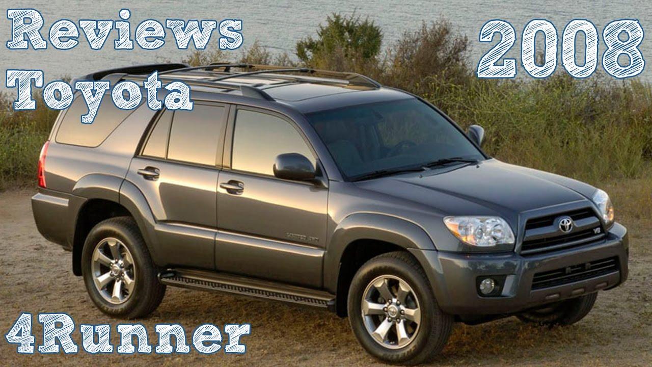Reviews Toyota 4runner 2008 Youtube