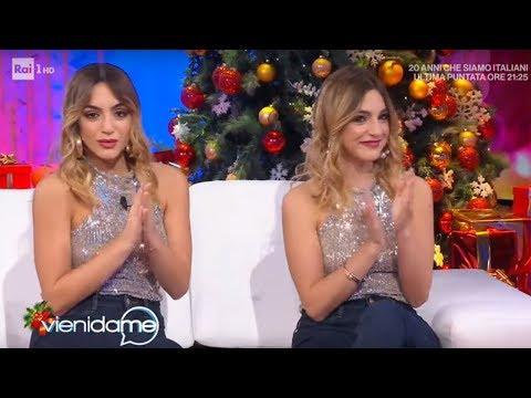 L'intervista alle gemelle Fazzini - Vieni da me 13/12/2019