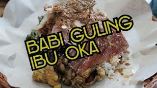 Babi Guling Ibu Oka (suckling pig) . Indonesian Food Tour in Bali.