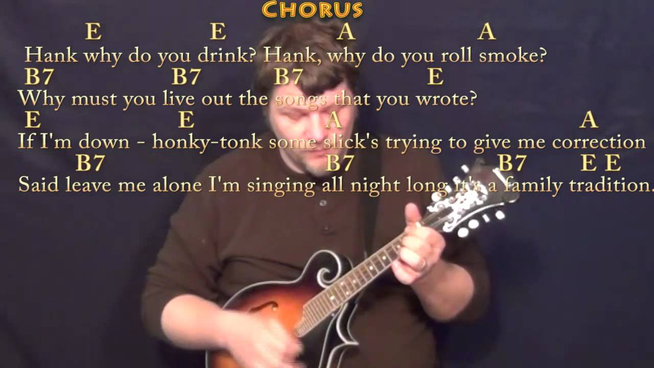 Family Tradition   Mandolin Cover Lesson with Chords/Lyrics
