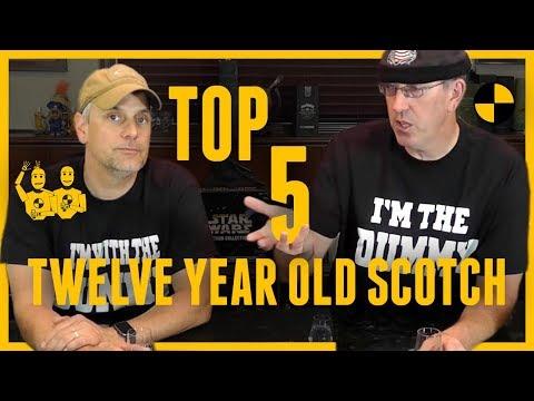 TOP Five 12 Year Old Single Malt Scotch #315