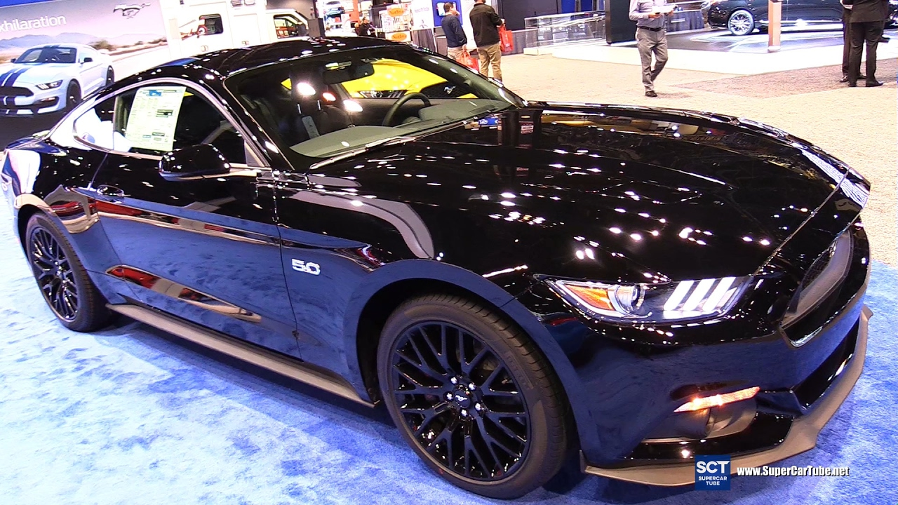 2017 ford mustang gt coupe premium exterior interior walkaround 2017 chicago auto show youtube