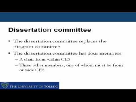 University of Toledo: Counselor Education Doctoral Program Orientation - Part 2