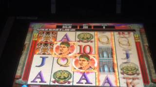 LIVE PLAY on Twin Warriors Slot Machine with Bonuses