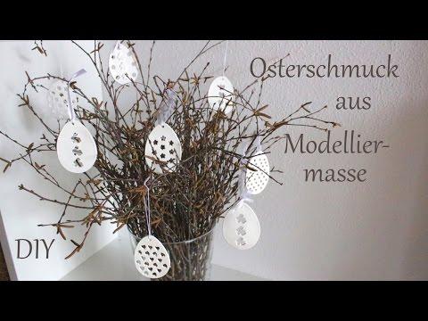 DIY | Osterschmuck aus Modelliermasse | Osterdeko | Just Deko