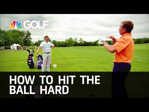 How to Hit the Ball Far - The Golf Fix   Golf Channel