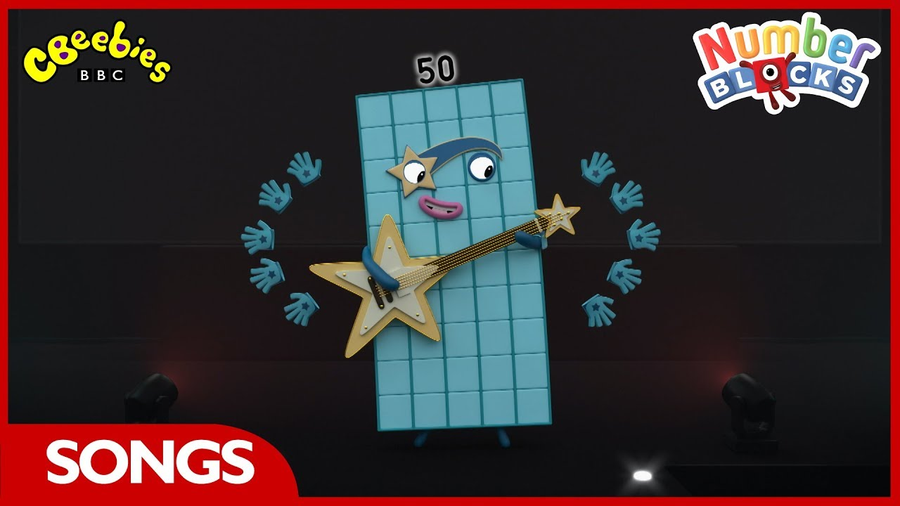 Download Fifty   Numberblocks