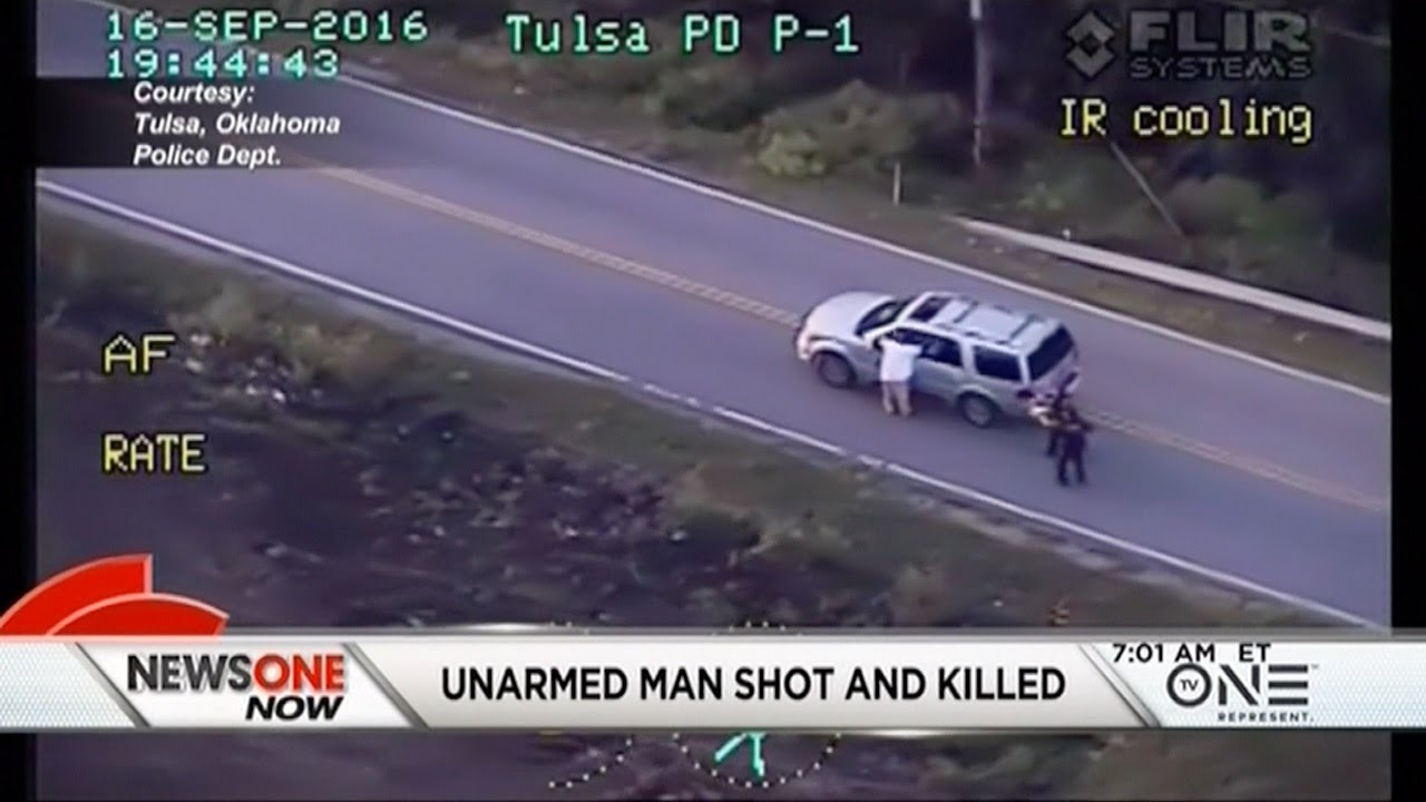 Tulsa Cops Shoot And Kill Unarmed Black Man Whose Hands ...