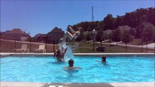 BASKET TOSSES IN THE POOL