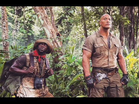 "Nick Jonas, The Rock & Kevin Hart Behind the Scenes of New Movie ""Jumanji"""