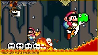 Mario and the 4 Stars • Super Mario World ROM Hack (2019)