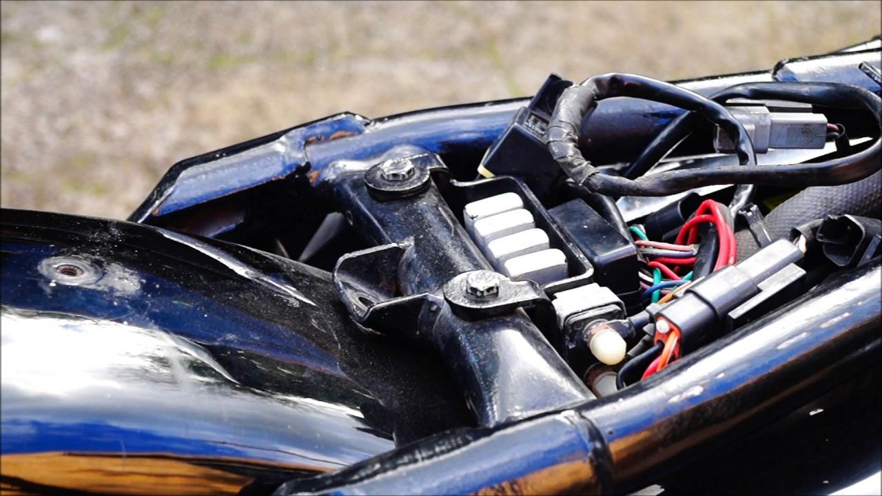 Harley Dyna 2000 Ignition Wiring Diagram For Shovelhead How To Repleace Starter Relay H D Sportster Hugger 1995