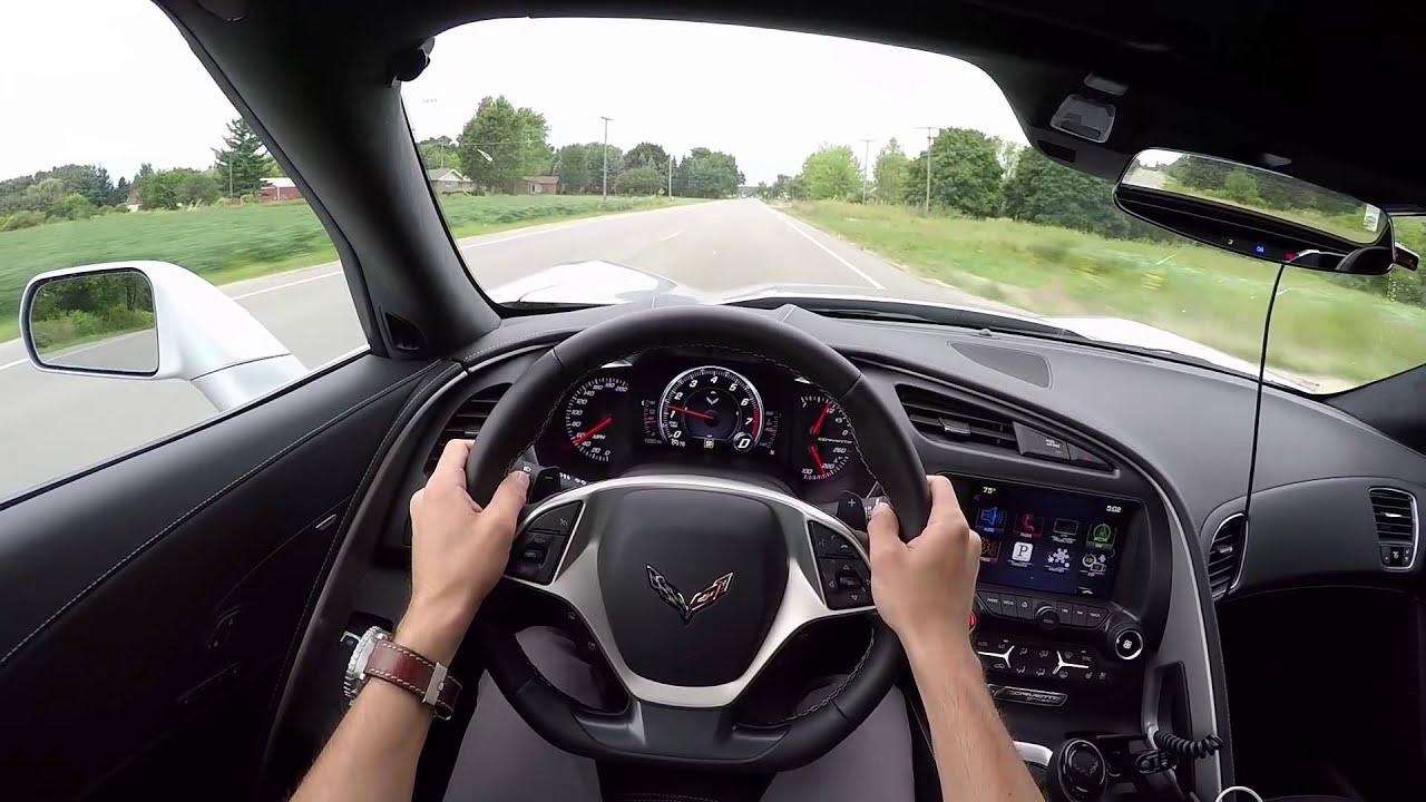 Cable Car Black And White Wallpaper 2016 Chevrolet Corvette Stingray Convertible Wr Tv Pov