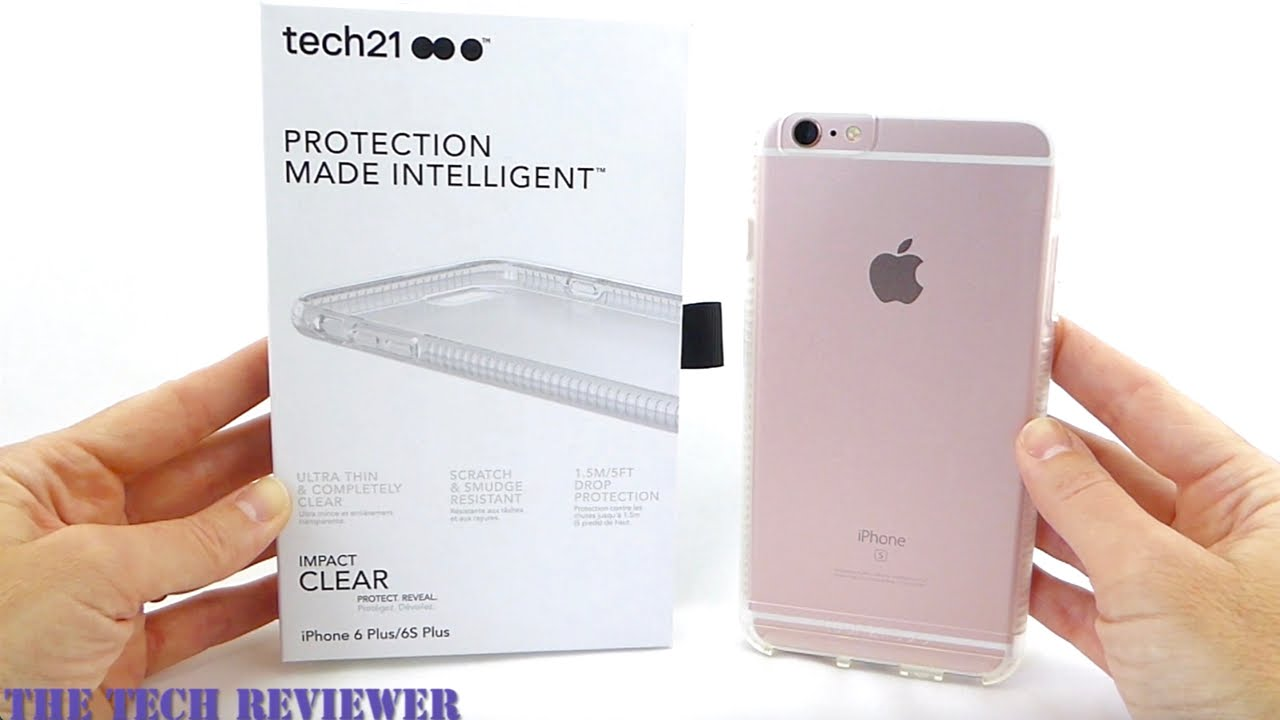 the latest 25802 fe412 Show off your iPhone 6s Plus with Tech21's Impact Clear with BulletShield!