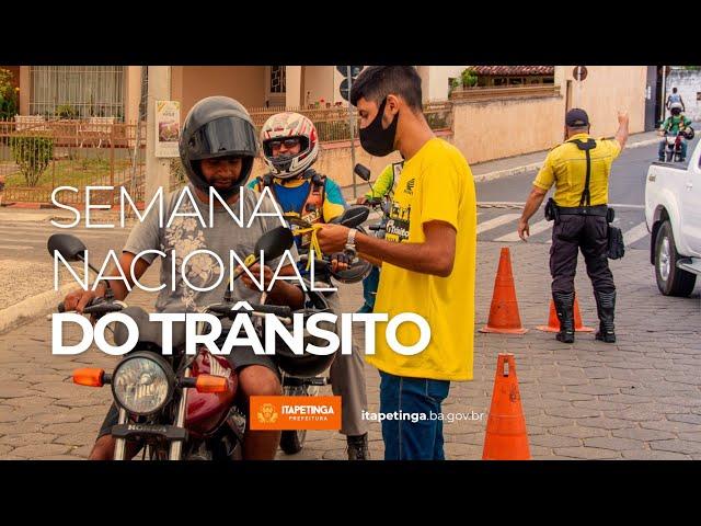 Semana Nacional de Transito