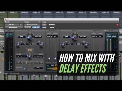 How To Mix With Delay Effects - RecordingRevolution.com