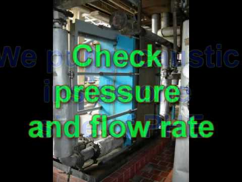 how to clean heat exchanger plates