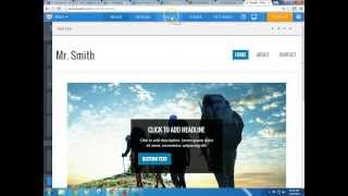 Weebly 2014 - Introduction tutorial to weebly.com: Create a Free Website