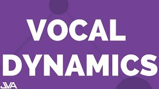 "VOCAL DYNAMICS EXERCISE #8 (ON ""BAH"")"