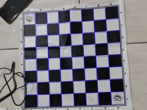 Opencv chessboard recognition