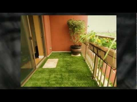 Balcony Landscaping By Rugzoom Youtube