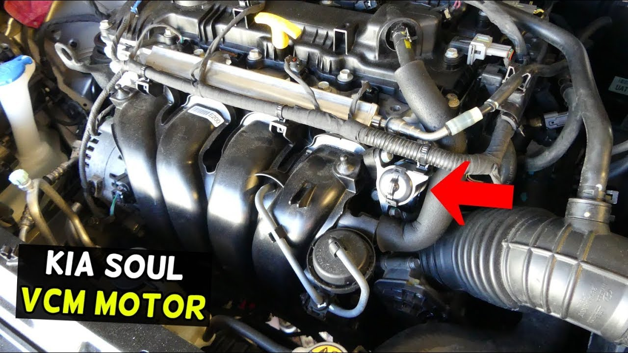 kia soul vcm motor