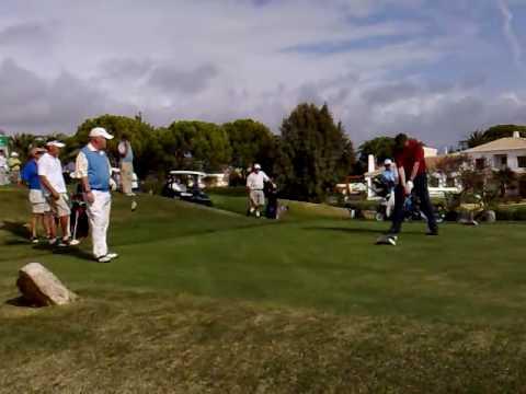 1st shot Tracey McCall  Boavista vs. Chez Carlos Golf Society