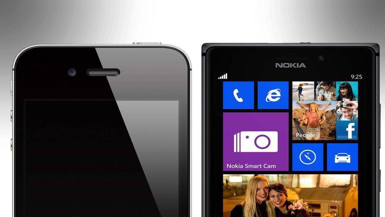 iPhone 4S vs Nokia Lumia 925 - Boot Test