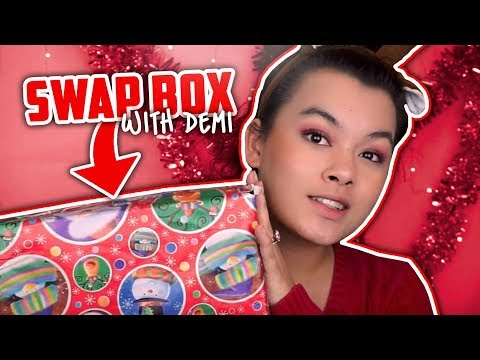 CHRISTMAS SWAP BOX| Collaboration with Demi Donnelly!