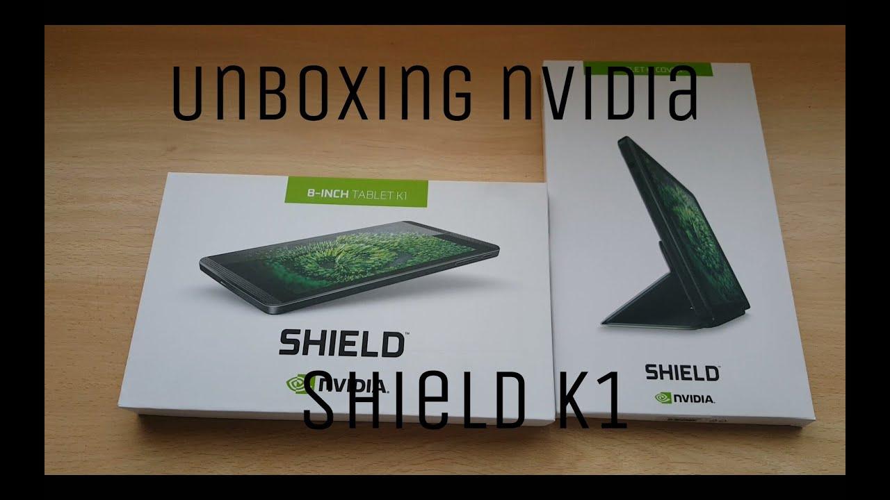 UNBOXING Nvidia Shield k1 - unboxing en español