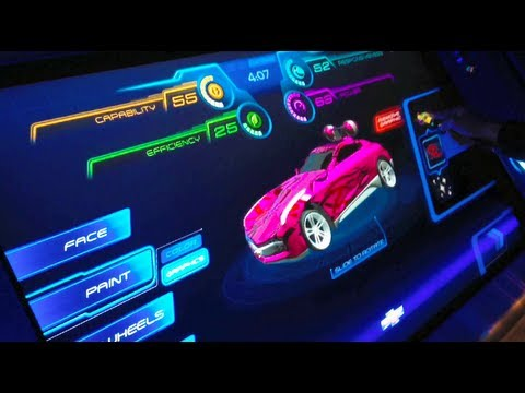 Test Track Queue Full Ride Post Show Epcot Walt Disney World Florida You