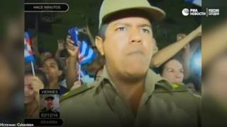Кортеж с прахом Кастро проехал по Баямо