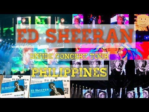 Ed Sheeran Full Concert ( Divide Tour Manila 2018)