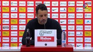 Rueda de prensa de  Baldomero Hermoso tras el Real Sporting vs CF Fuenlabrada (1-0)