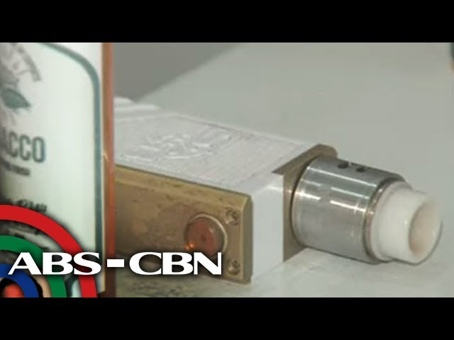 Health chief supports ban on vaping | ANC